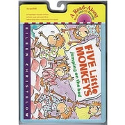 Carry Along Book & CD Sets, Five Little Monkeys Jumping on the Bed