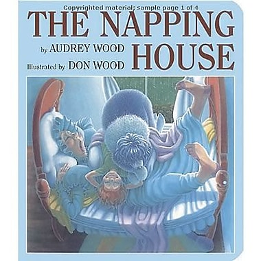 Houghton Mifflin Harcourt Classic Children's The Napping House Book By Audrey Wood, Grade P-3 (HBJ0152567089)