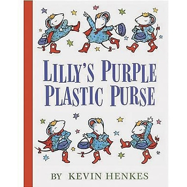Harper Collins Lilly's Purple Plastic Purse Character Book By Kevin Henkes, Grades Kindergarten-12th