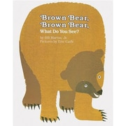 MacMillan Publishing Henry Holt Brown Bear Classic Children's Books By Bill Martin Jr., Grade P-Kindergarten (ING0805002014)
