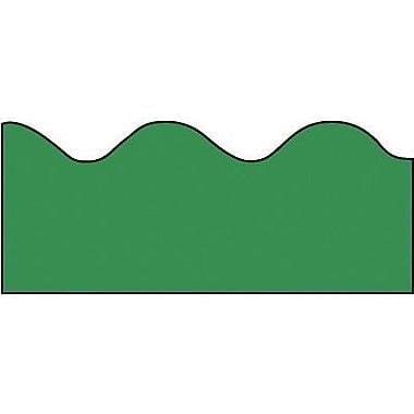 Trend Enterprises® pre-kindergarten - 9th Grades Scalloped Terrific Trimmer, Solid Kelly Green