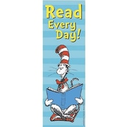 Eureka Cat In The Hat, Read Every Day Bookmark, Grades pre-school - 6th, 216/Pack (EU-834280)