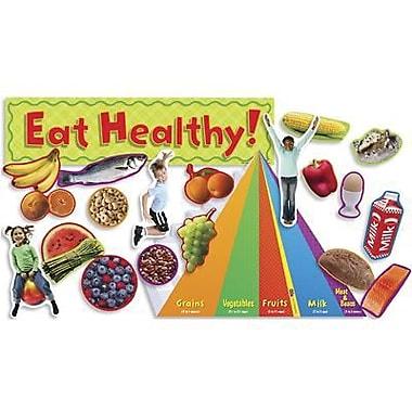 Teacher's Friend® Mini Bulletin Board Set, Nutrition With Food Pyramid