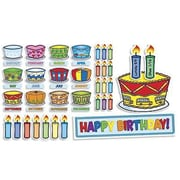 Scholastic Teacher's Friend® Bulletin Board Set, Birthday Cakes (TF-8072)