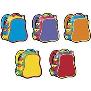 "TREND T-10950 5.5"" DieCut Bright Backpacks Classic Accents, Multicolor"