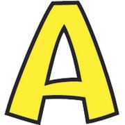 "Trend® 4"" Ready Letters®, Playful Combo Packs, Yellow"