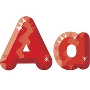 """Trend Enterprises® Casual Combo Pack Ready Letter, 4"""", Red Gems"""