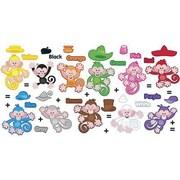 Trend Enterprises Mini Bulletin Board Set, Colour Monkeys, 48/Pack (T-8707)