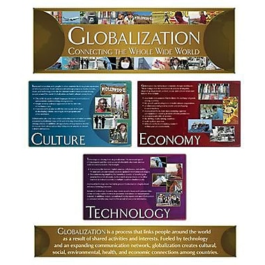North Star Teacher Resources® Bulletin Board Set, Globalization