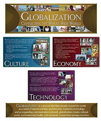 North Star Bulletin Board Sets, Globalization