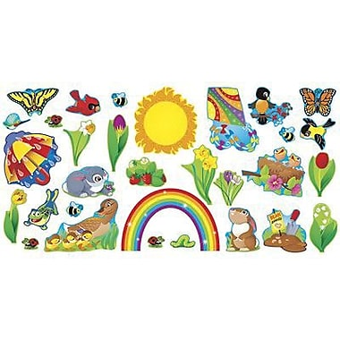 Trend Enterprises Bulletin Board Set, Spring Things, 31/Pack (T-8171)