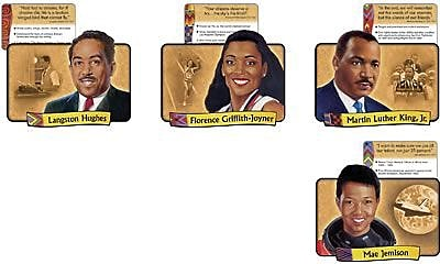 Trend® Bulletin Board Sets, African American Achievers