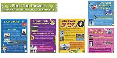 North Star Bulletin Board Sets, Alternative Energy, Renewable Resource