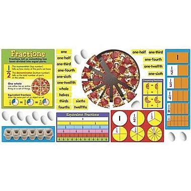 Trend Enterprises® Bulletin Board Set, Fraction Action