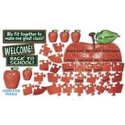 Teacher's Friend® Bulletin Board Set, Welcome Apple Puzzle