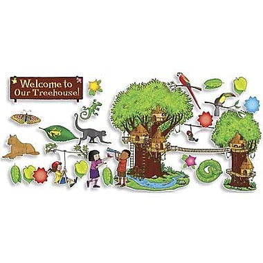 Teacher's Friend® Bulletin Board Set, Jungle Treehouse