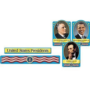 Trend Enterprises Bulletin Board Set, U.s. Presidents, 108/Pack (T-8065)