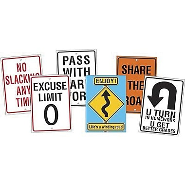 Trend Enterprises Poster Combo Packs, Life Signs, 12/Pack (T-A67908)