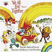 Youngheart Music Greg and Steve We All Live Together CD, Version 2 (YM-002CD)