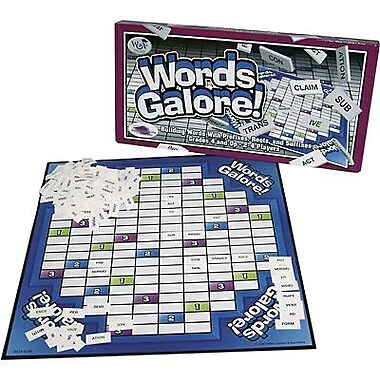 Wiebe, Carlson and Associates® Words Galore Vocabulary Game, Grades 4th