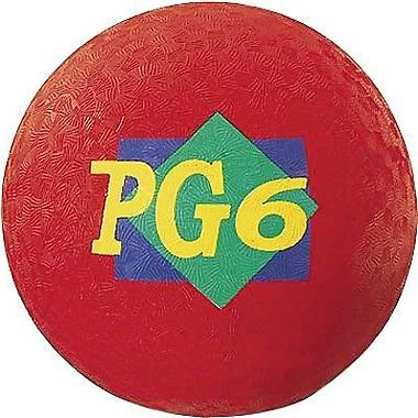 Martin Sports® Playground Ball, Red, 6