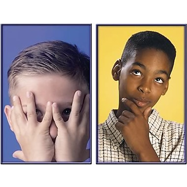Key Education Publishing® Emotions Photographic Learning Cards, Grades pre-kindergarten - 1st