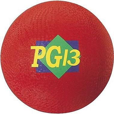 Martin Sports® Playground Ball, Red, 13