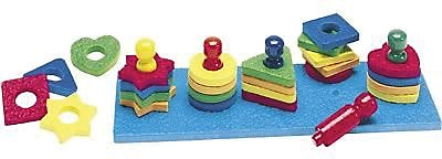 Lauri® Toys Shape and Color Sorter
