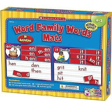 Teacher's Friend® Early Skills Word Family Mats