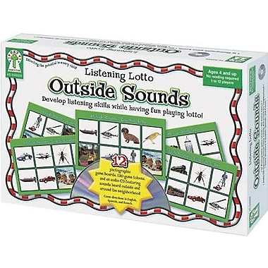 Key Education Publishing® Outside Sounds Listening Lotto Game