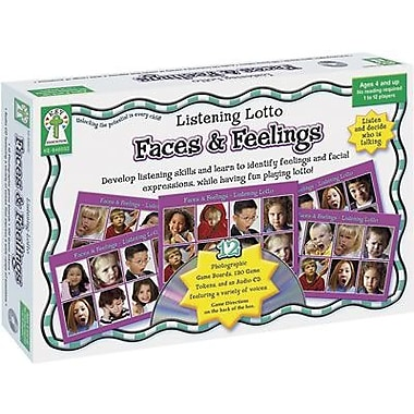 Key Education Publishing Faces And Feelings Listening Lotto Game (KE-846032)