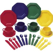 Learning Resources Pretend And Play Dish Set, 24/Pack (LER0294)