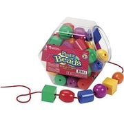 Learning Resources® Plastic Lacing Beads