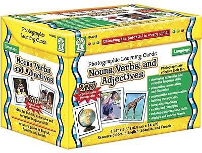 Key Education Publishing® Nouns Photographic Language Cards, Grades pre-kindergarten - 3rd