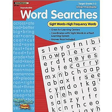 Edupress® Sight Words In A Flash Word Searches, Grades 1st - 2nd
