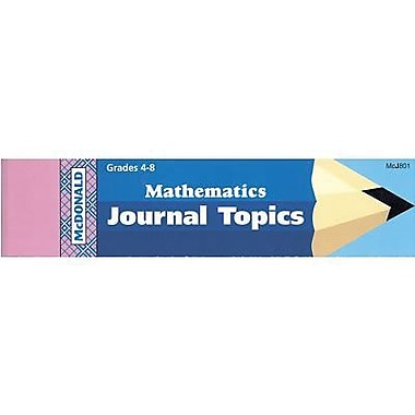 McDonald Publishing® Journal Booklet, Mathematics