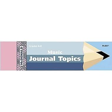 McDonald Publishing® Journal Booklet, Music