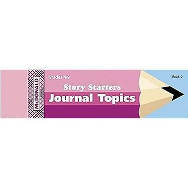 McDonald Publishing Story Starters Journal Booklet 8.5
