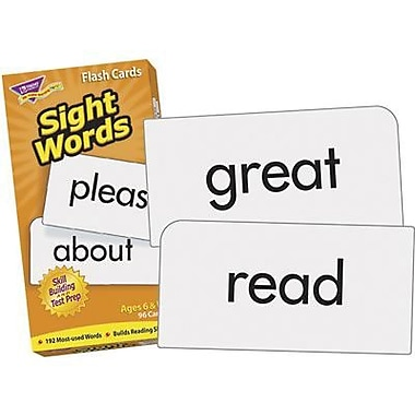 Trend Enterprises® Sight Words Skill Drill Flash Cards, Grade 1 - 2nd (T-53003)