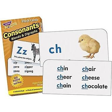 Trend Enterprises® Consonants Skill Drill Flash Cards, Grades 1st - 3rd