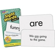 Trend Enterprises® Sight Words Skill Drill Flash Cards, Level 1, Grades 1st -2nd