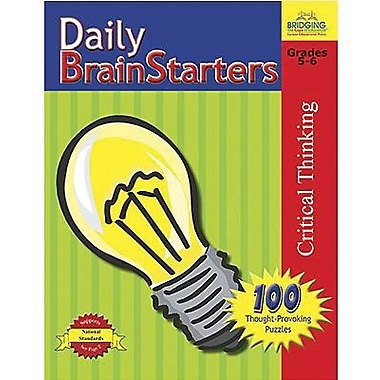 Milliken Publishing Company Daily Brain Starters Book, Grade 5 - 6 (M-P901023LE)