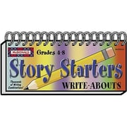 McDonald Publishing® Story Starters Write-Abouts Booklet, Grades 4th - 8th