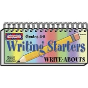 McDonald Publishing® Writing Starters Write-Abouts Booklet, Grades 4th - 8th