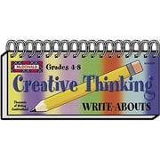 McDonald Publishing® Creative Thinking Write-Abouts Booklet, Grades 4th - 8th