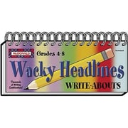 McDonald Publishing® Wacky Headlines Write-Abouts Booklet, Grades 4th - 8th