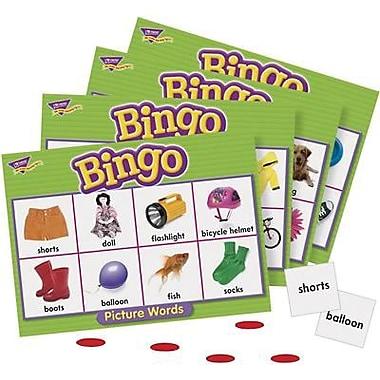 Trend Enterprises® Picture Words Bingo Game, Grades Kindergarten - 3rd
