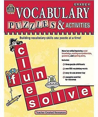 Vocabulary Skills Books