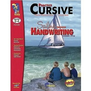 On The Mark Press® Sailing Through Handwriting Practice Cursive Book, Grades 2nd - 4th
