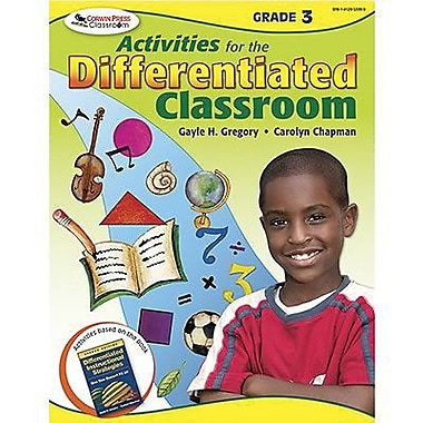 Corwin Activities For The Differentiated Classroom Resource Book, Grades 3rd